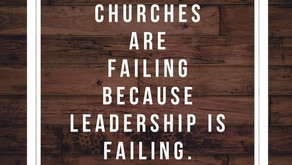 Why is the church failing this generation?