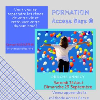 Formation Access bars à Annecy