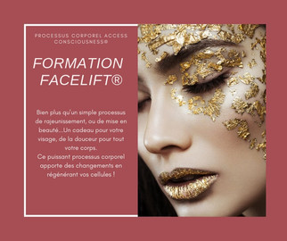 Formation lifting facial à Annecy