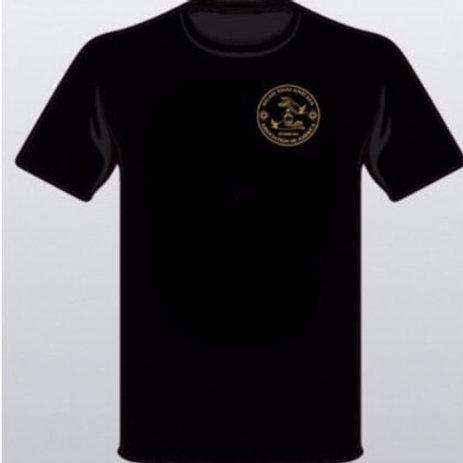 เสื้อสมาคมสตรี สีดำ โลโก้ขาว ไซส์ XL