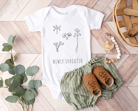 Newly Sprouted Onesie