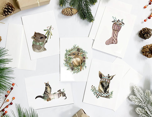 Australiana Christmas Cards Collection (Pack)