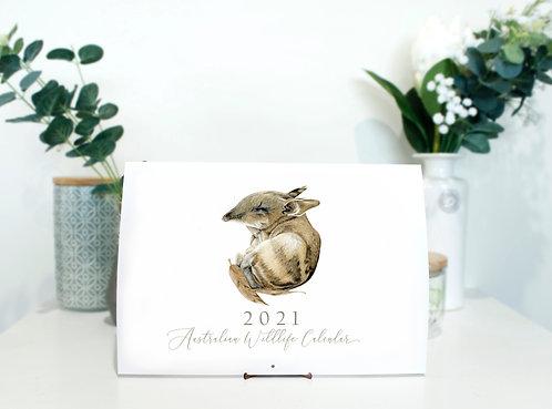 Australian Wildlife Calendar 2021