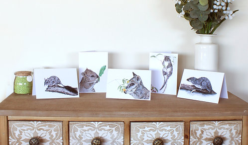Southern Forests Native Fauna Greeting Card Collection