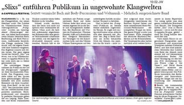 Wilhelmshaven A Cappella Festival 2018