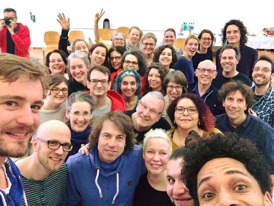 """SLIXS Workshopteilnehmer 2018 """"Züricher A Cappella Festival 2018"""""""