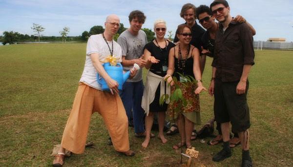 Trea planting ceremonie