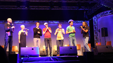 Bobby McFerrin + SLIXS & Friends Europatour 2014