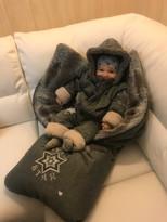 dětský fusak s kompletem oblečení