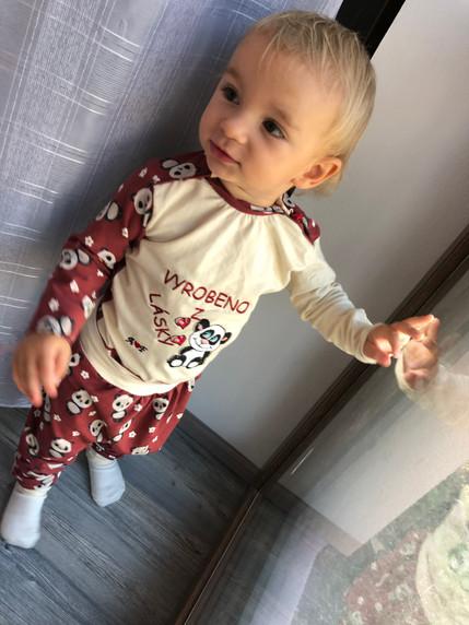Dětské domácí oblečení