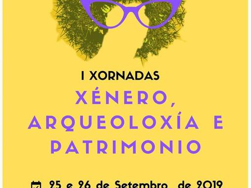 I Xornadas de Xénero, Arqueoloxía e Patrimonio (Santiago de Compostela, 25 - 26 setembro)
