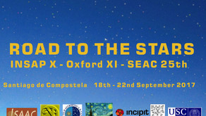 Congreso The Road to the Stars (INSAP X-Oxford XI-SEAC 25th): Aceptación de resúmenes hasta el 28 de