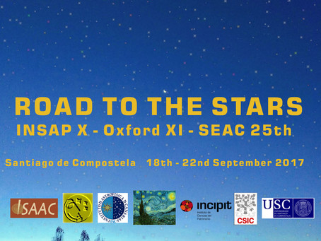 Congreso The Road to the Stars (INSAP X-Oxford XI-SEAC 25th): Aceptación de resúmenes hasta el 28 de