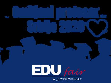 Omiljeni profesor Srbije 2020 - Prva faza je završena