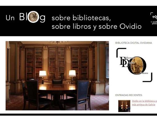 Presentación del blog del Proyecto  Biblioteca Digital Ovidiana