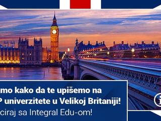 10 koraka do studija u Velikoj Britaniji?