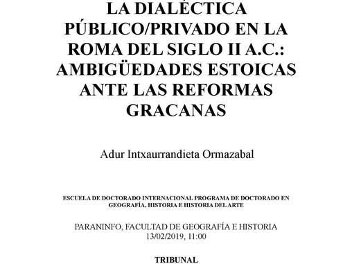 Tesis doctoral de Adur Intxaurrandieta