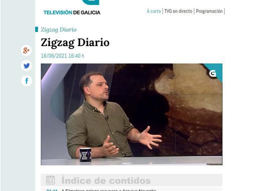 Entrevista a José M. Costa na TVG