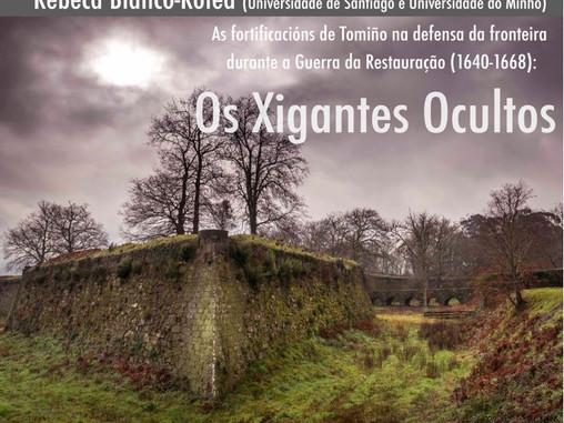 Charla As fortificacións de Tomiño na defensa da fronteira durante a Guerra da Restauraçao (1640-166