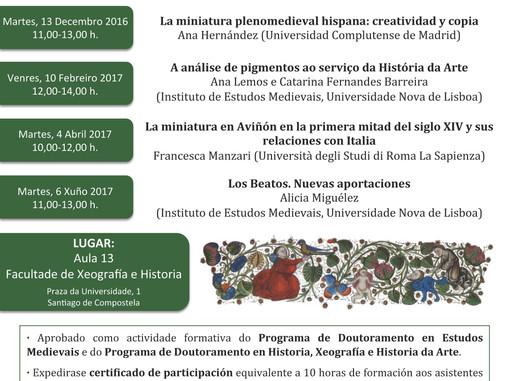 Curso Pro Illuminatura. Seminario de Historia da Miniatura
