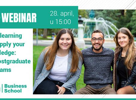 Saznajte sve o master programima na EU Business School!