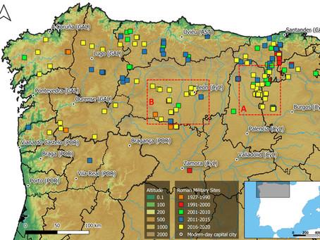 66 campamentos militares romanos inéditos en Castilla y León y Cantabria