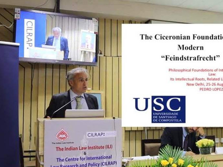 The Ciceronian Foundations of Modern 'Feindstrafrecht' (vídeo)