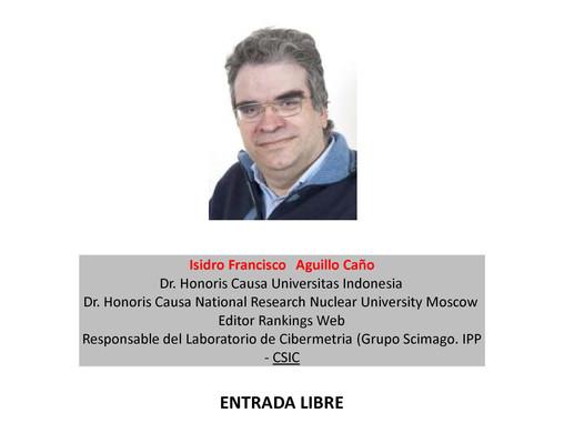 Conferencia, La indexación en revistas (Santiago de Compostela, 14 novembro)
