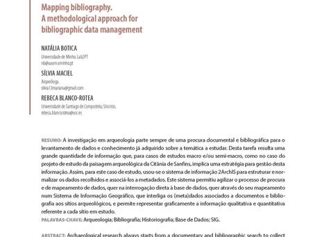 Mapear a bibliografia. Abordagem metodológica para a gestão de dados bibliográficos