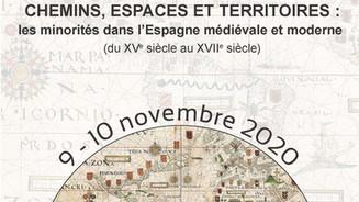 Coloquio Caminos, espacios y territorios (Compostela, 9-10 noviembre 2020)
