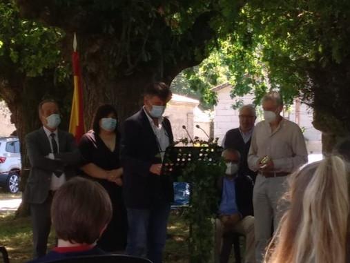 José Miguel Andrade Cernadas, Premio Antón Losada Diéguez 2021