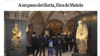A un paso da Gloria, fóra de Meirás