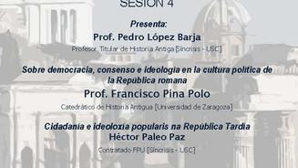 IV Seminario de iniciación á investigación: Prof. Francisco Pina Polo