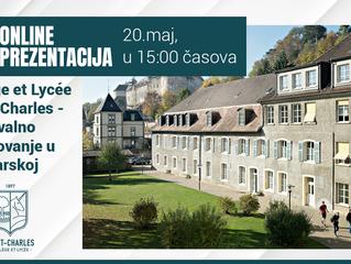 10000 CHF stipendija za školovanje u Švajcarskoj! -  Collège et Lycée Saint-Charles