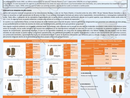 Conjunto de ´pondera´ hallados en Iria Flavia. Una aproximación morfológica y funcional