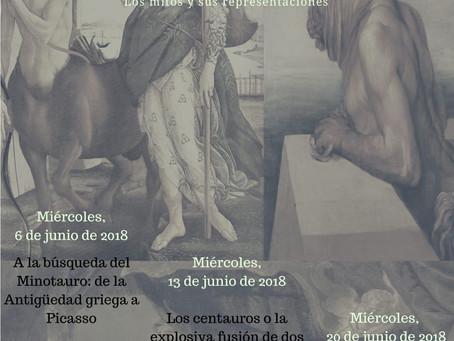 Conferencia inaugural ´A la búsqueda del Minotauro: de la Antigüedad griega a Picasso´ (Tenerife, 6