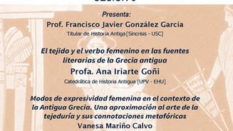 IV Seminario de iniciación á investigación: Profa. Ana Iriarte Goñi