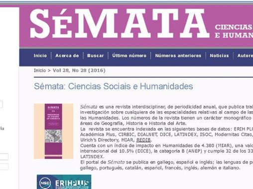 Call for papers: Número monográfico da revista SÉMATA (Transdisciplinariedade para un Futuro Respons