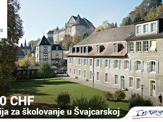 10000 CHF stipendija za školovanje u Švajcarskoj!
