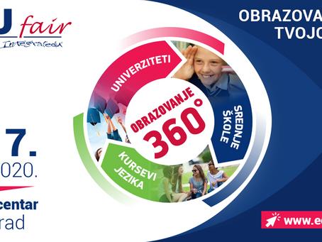 EDUfair 2020 - 6. i 7. mart. Najbolji srpski i inostrani fakulteti će na sajmu davati akademske save