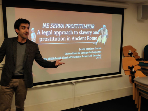 'Ne Serva Prostituatur. A legal approach to slavery and prostitution in Ancient Rome'