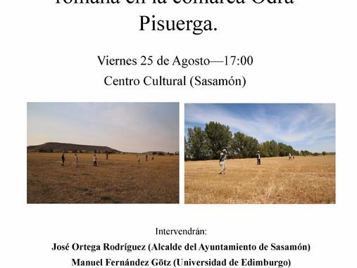 Charla ´Augusto en Sasamón. Estudiando la presencia militar romana en la comarca Odra-Pisuerga´