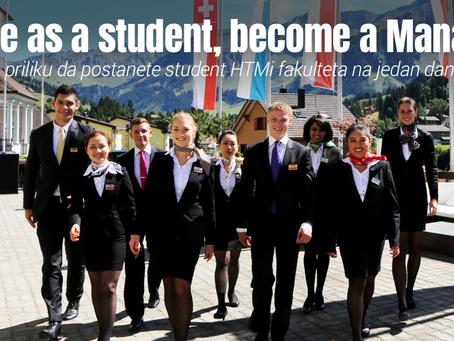 Zgrabite priliku da postanete student HTMi fakulteta na jedan dan u Srbiji!