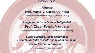 IV Seminario de iniciación á investigación: Prof. César Fornis Vaquero