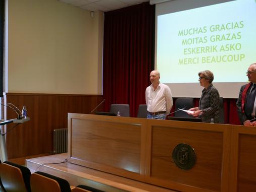 Lectura de tesis doctoral de Irune Valderrábano González