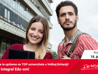10 najpopularnijih akademskih studija u Velikoj Britaniji za međunarodne studente