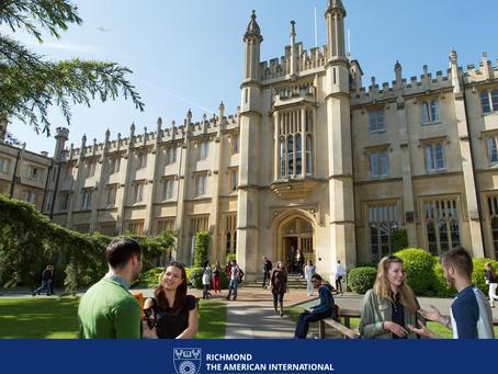 Studirajte na Ričmondu, Američkom internacionalnom univerzitetu u Londonu, i dobijte dve diplome – e