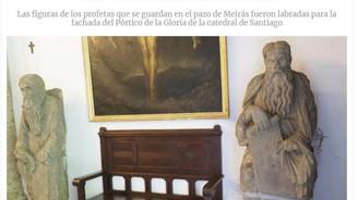 El maestro Mateo no esculpió las estatuas para estar encerradas en torreones