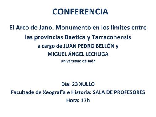 El Arco de Jano. Monumento en los límites entre las provincias Baetica y Tarraconensis