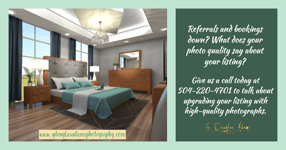 Quality photography has an enormous impact on customer/client impression.  You only have a few seconds to make a visual connection for them to want to see more.